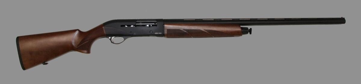 Глад. ор. Huglu GX 512 Black Wooden кал.12/76. 760 мм (газоотв.система) П/А