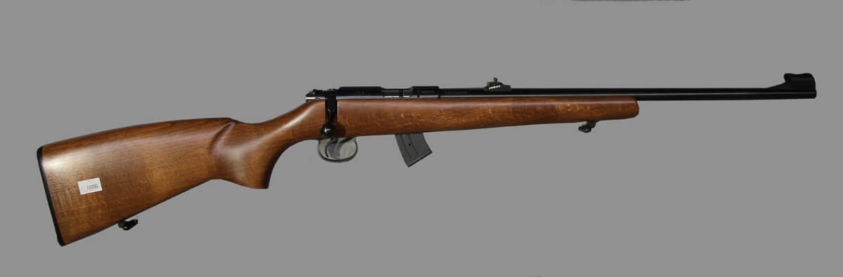 Нарез  оруж  CZ 455 Thumbhole Grey kal  22LR 5-зар магазин